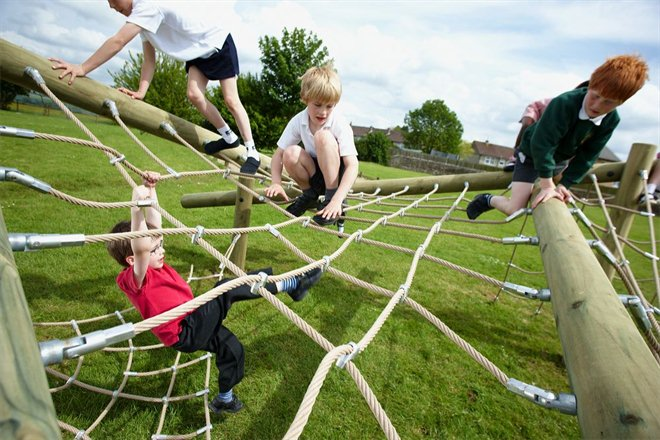 How to Make a Rope Playground