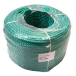 Green Polypropylene Rope sold by the 220m coil