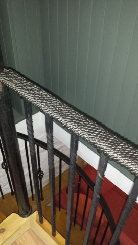 Rope Handrail On Spiral Staircase Ropes Directropes Direct