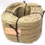 6mm Natural Flax Hemp Rope sold on a 220m coil