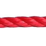 Red Polypropylene Rope sold by the metre