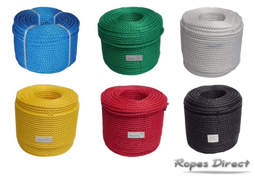 Polypropylene ropes available at RopesDirect