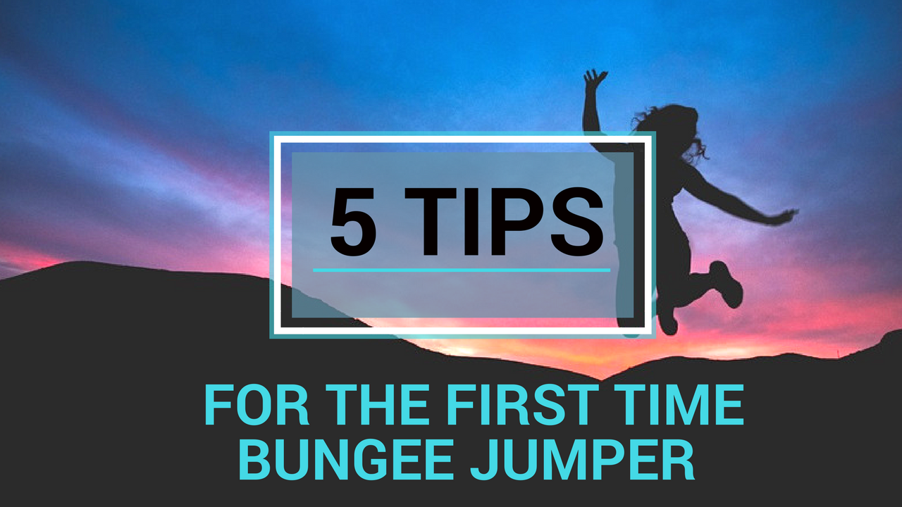 first time bungee jumper