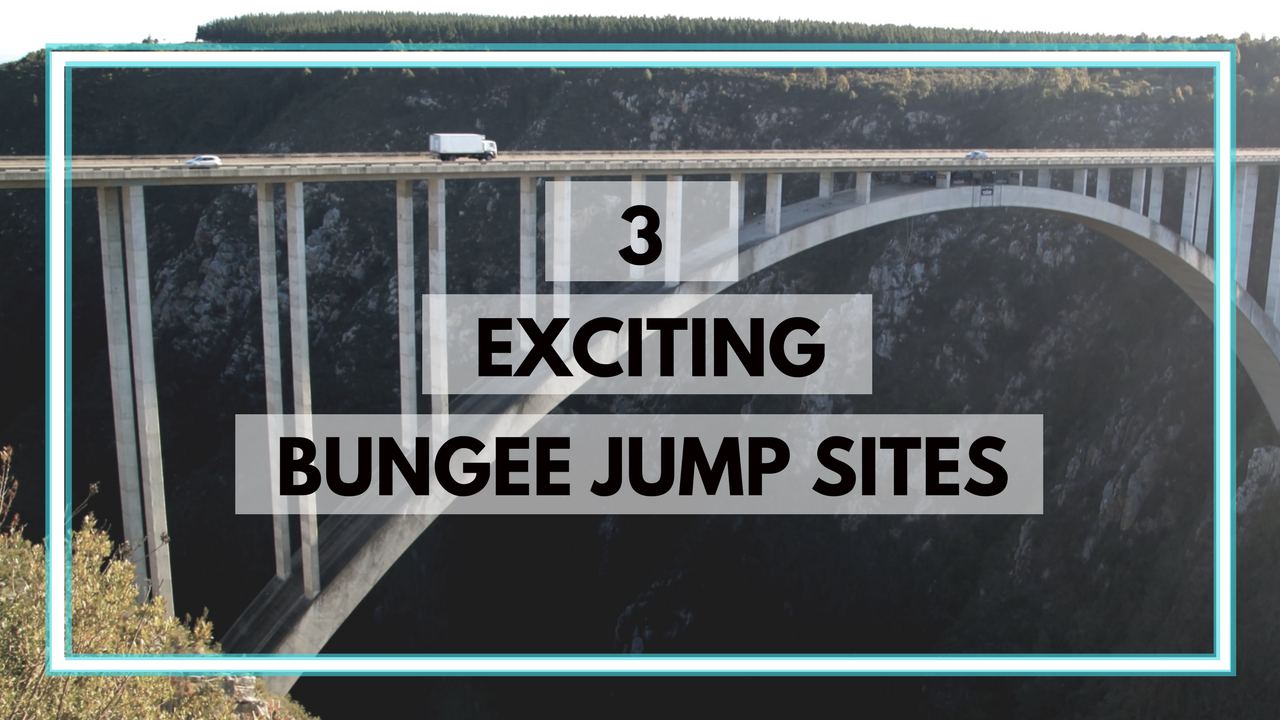 exciting bungee jump sites