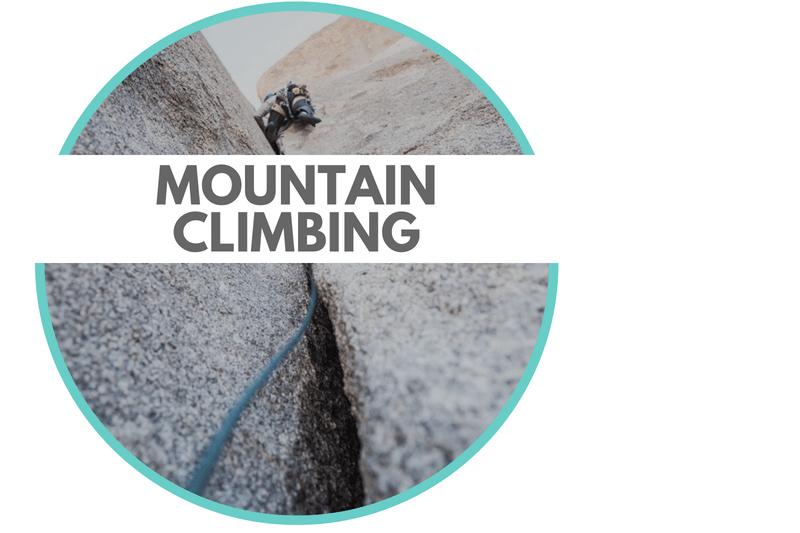 Rope Sports Mountain Climbing