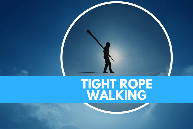 Rope sports Tight Rope