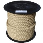 20mm Synthetic Hemp Garden Decking Rope on a 100m reel