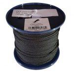 3mm x 150m Black 8-plait Polyester Cord