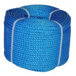 10mm Blue Polypropylene rope 220m coil