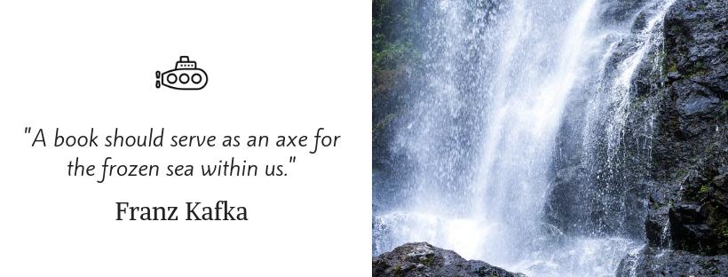 sailing quotes - Franz Kafka