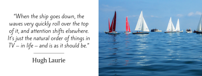 sailing quotes - Hugh Laurie