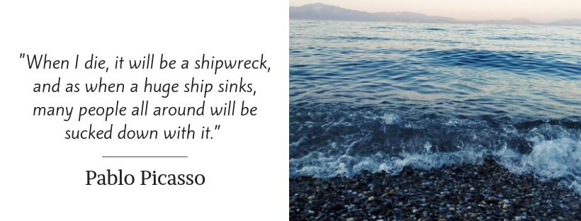 sailing quotes - Pablo Picasso