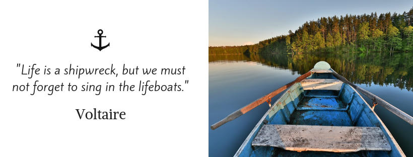 sailing quotes - Voltaire