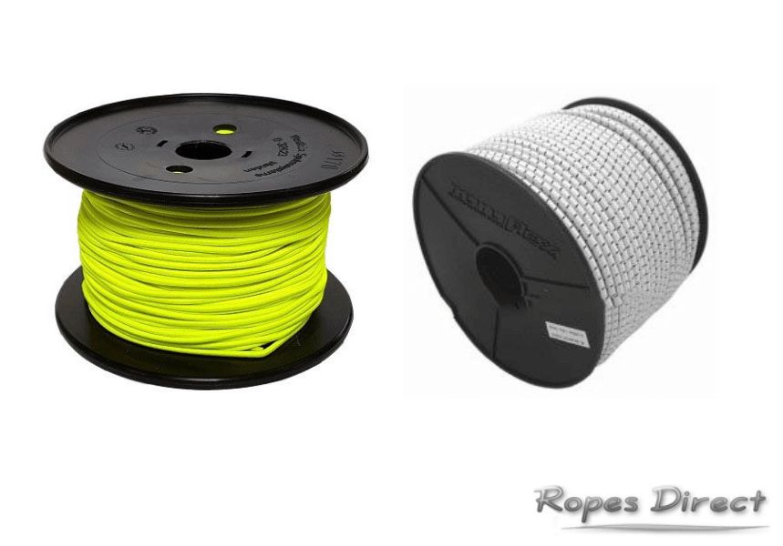 examples of bungee cord available at Ropes Direct