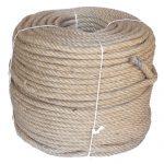 4-strand Jute/pp rope - 220m coil