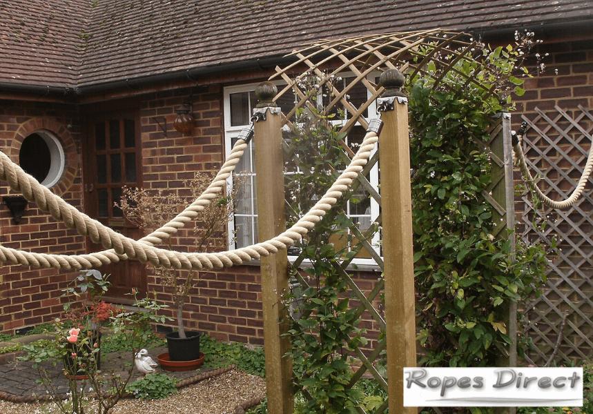 Garden Rope Fence