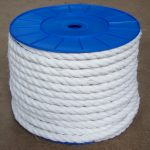 14mm White Staplespun Polypropylene Rope per Metre, Ropes Direct