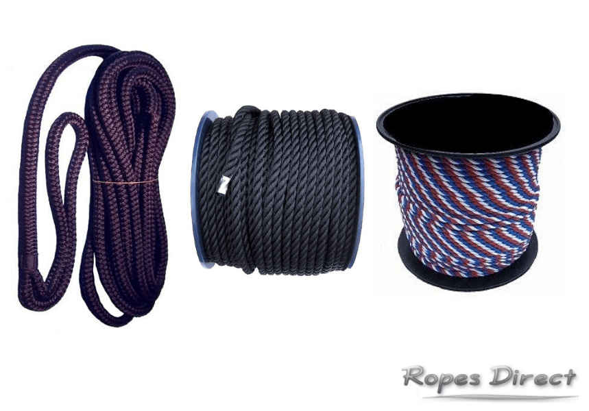 mooring ropes for sale at Ropes Direct