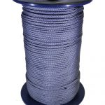 4mm Silver Grey Polypropylene MultiCord - 200m reel