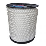 22mm White Yacht Rope on a 100m reel