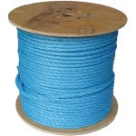8mm Blue Polypropylene Rope - 220m reel