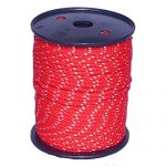 5mm Red Cord with Reflective Strip