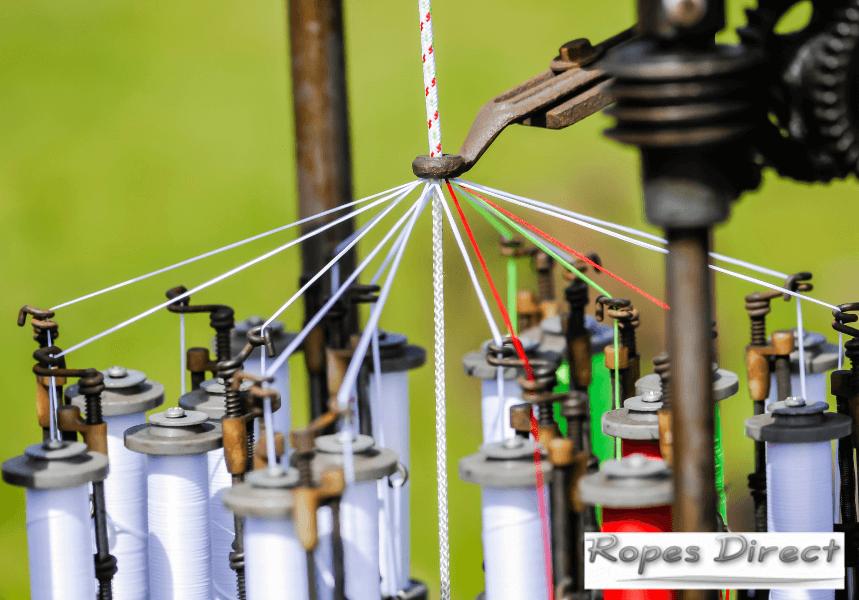 Machine that makes rope