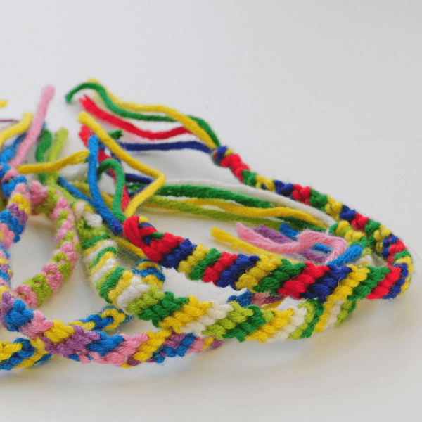 Example of kids' rope crafts