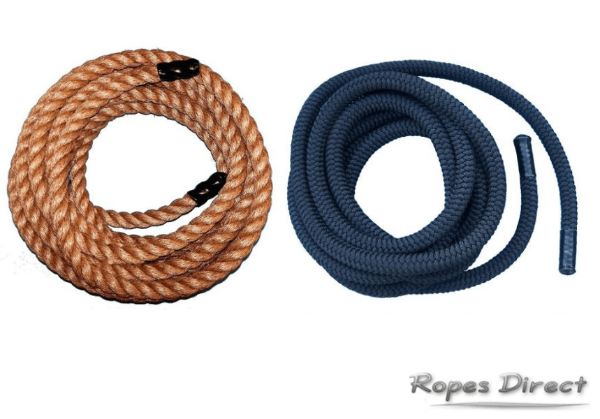 Battle ropes available at RopesDirect