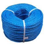 4mm Blue Polypropylene Rope - 220m coil