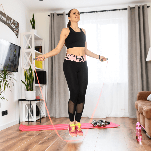 Example of rope exercise