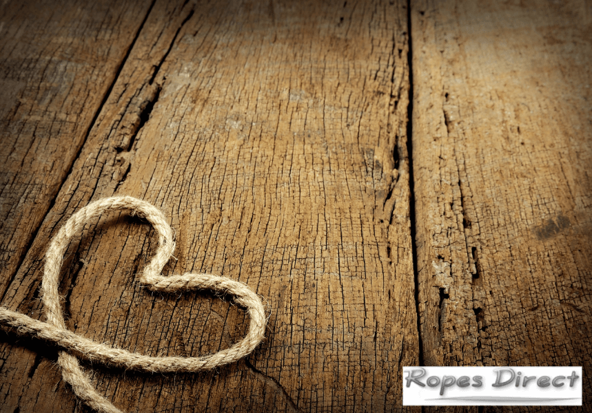 Rope for Valentine's day crafts