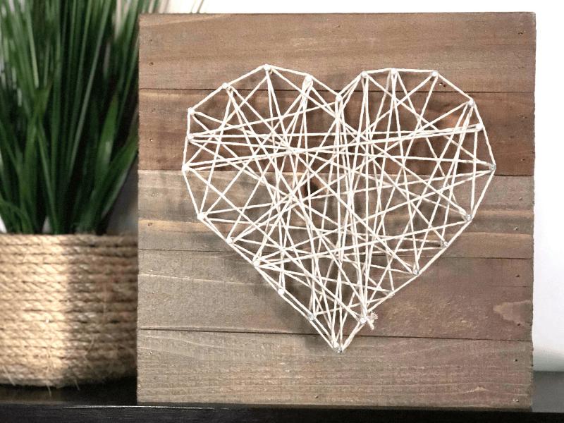Example of Valentine's craft