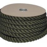 24mm Olive Green PolyCotton Barrier Rope - 24m reel