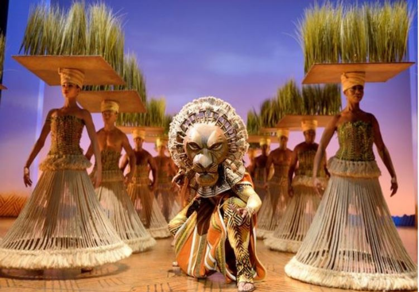 Sisal and flax hemp ropes used in Lion King production