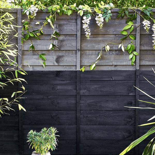 Garden fence design idea