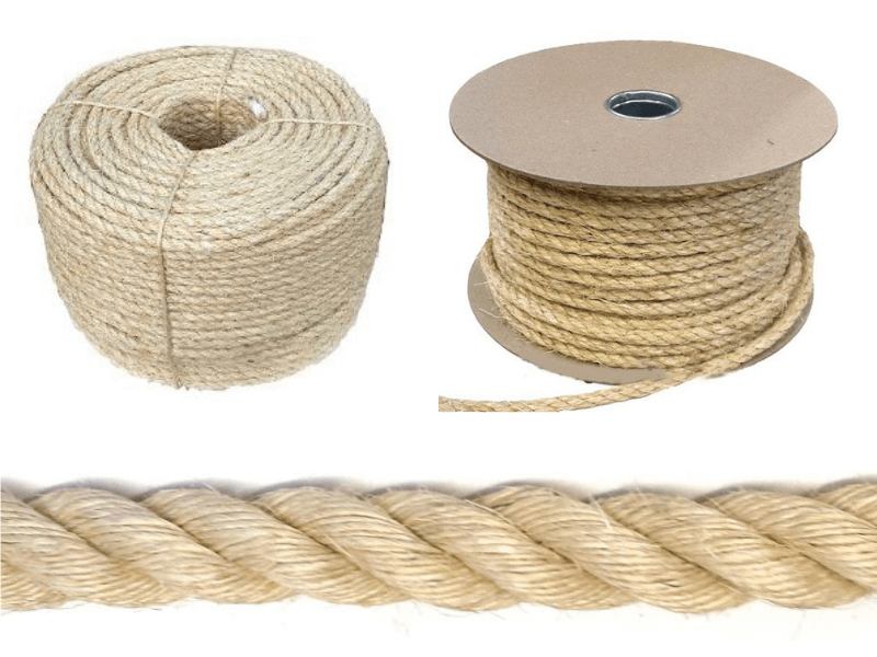 Sisal rope available at RopesDirect