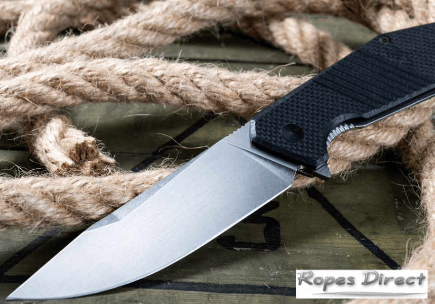 Knife for cutting rope