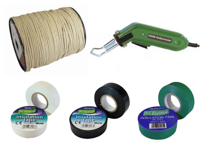 Materials for cutting rope available at RopesDirect