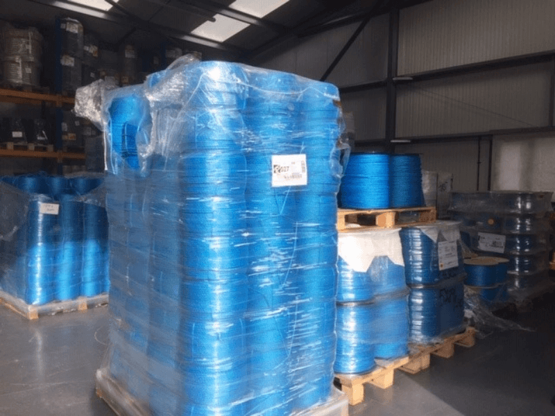 Blue rope available at RopesDirect