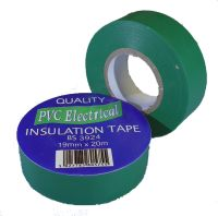 19mm x 20m Green PVC Electrical Tape