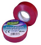 19mm x 20m Red PVC Electrical Tape