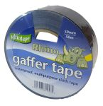 50mm x 50m Black Gaffer Tape