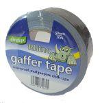 50mm x 50m Silver Gaffer Tape