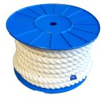 24mm x 25m White Barrier Rope