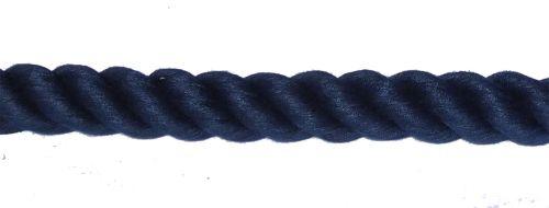 32mm Navy Blue PolyCotton Barrier Rope