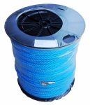 10mm Blue Polypropylene Rope - 500m reel