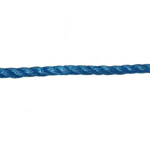 14mm Blue Polypropylene Rope sold by the metre