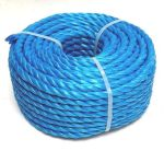 8mm Blue Poly Rope - 30m Mini Coil