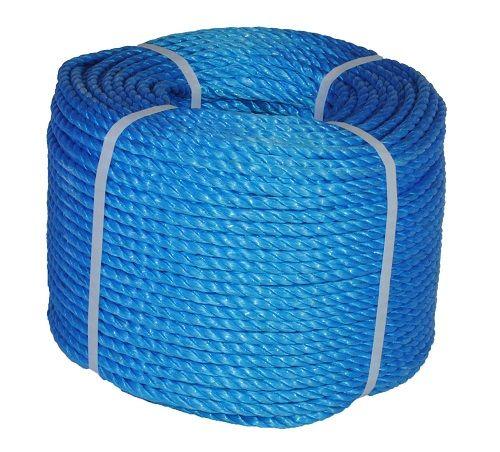 10mm Blue Polypropylene Rope - 220m coil